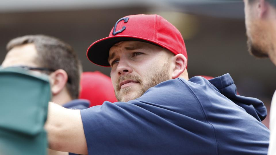 Indians place Justin Masterson on disabled list with knee inflammation