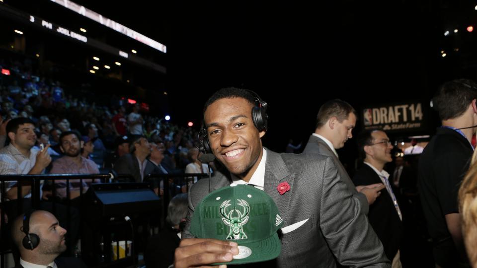 The Milwaukee Bucks signed no. 2 overall pick Jabari Parker