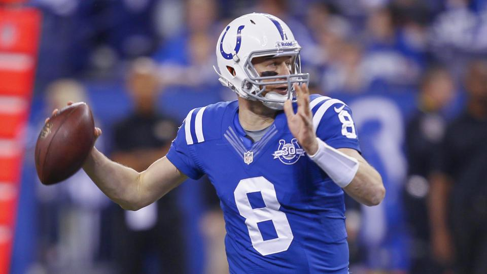 Matt Hasselback wants to stay with the Indianapolis Colts