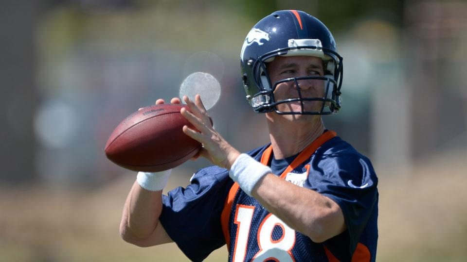 2014 NFL MVP odds: Peyton Manning is betting favorite to win award