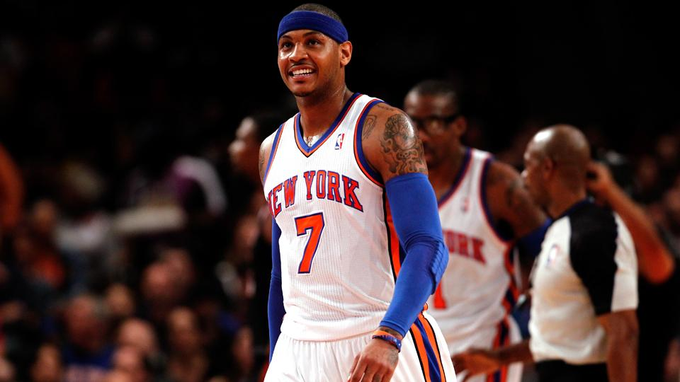 Report: Carmelo Anthony still deciding among Knicks, Bulls, Lakers