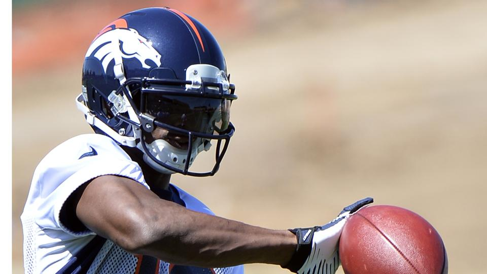 "Broncos WR Emmanuel Sanders on working with Peyton Manning: It's ""wide receiver heaven"""