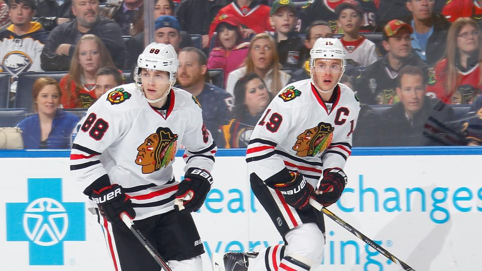 Blackhawks sign Patrick Kane and Jonathan Toews to eight-year deals
