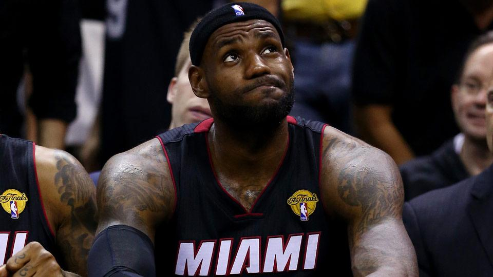 LeBron James, Heat's Pat Riley exit Vegas meeting without agreement