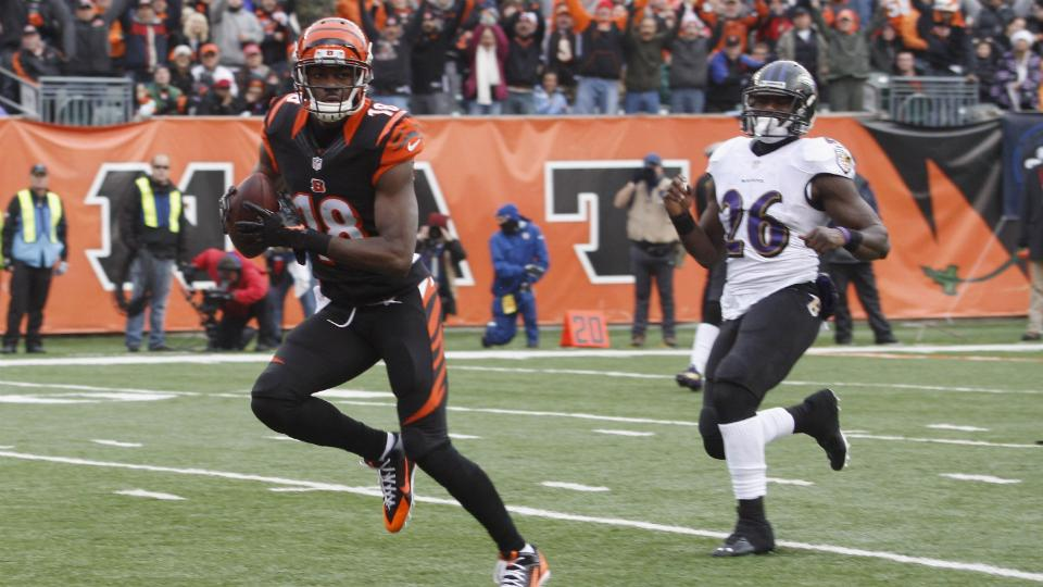 Bengals' A.J. Green says he only wants Andy Dalton throwing him the ball