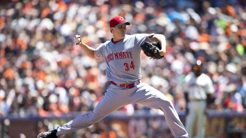 Reds pitcher Homer Bailey has start pushed back due to elbow stiffness