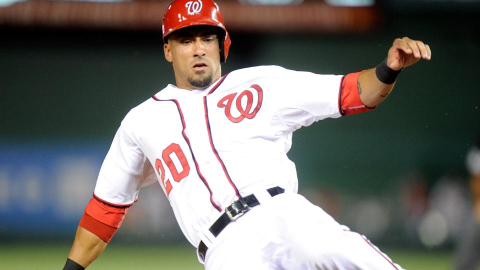 Nationals' Ian Desmond leaves game after being hit in hand
