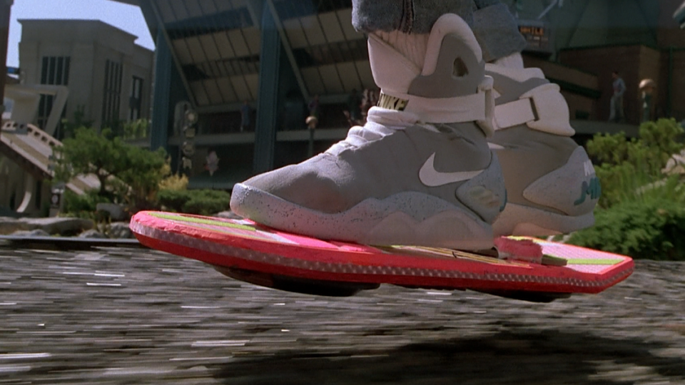 You can now buy the original Marty McFly hoverboard