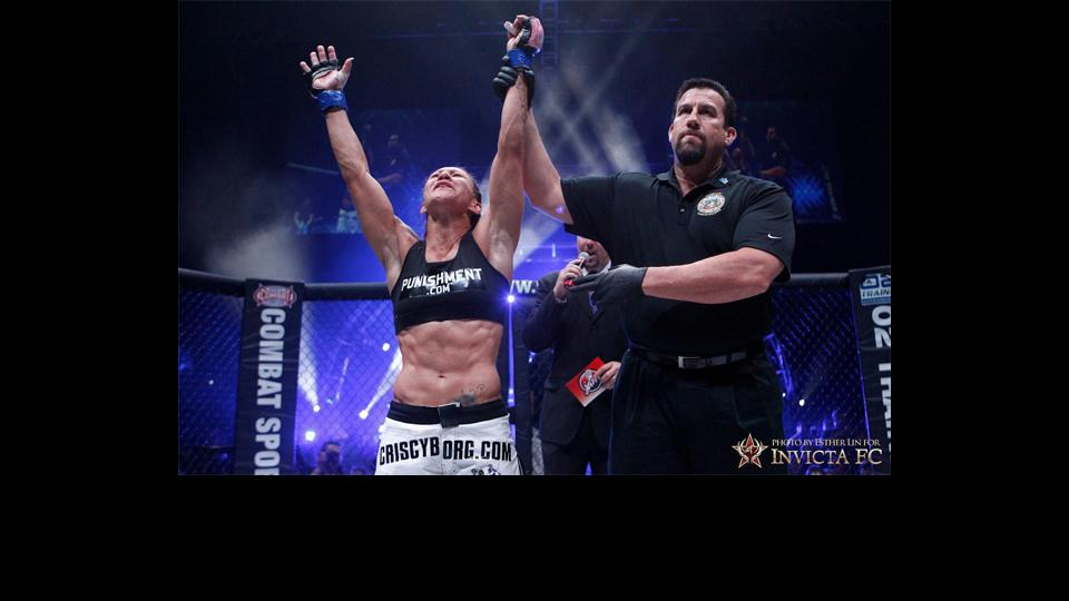 Cristiane 'Cyborg' Justino to make 135-pound debut in December