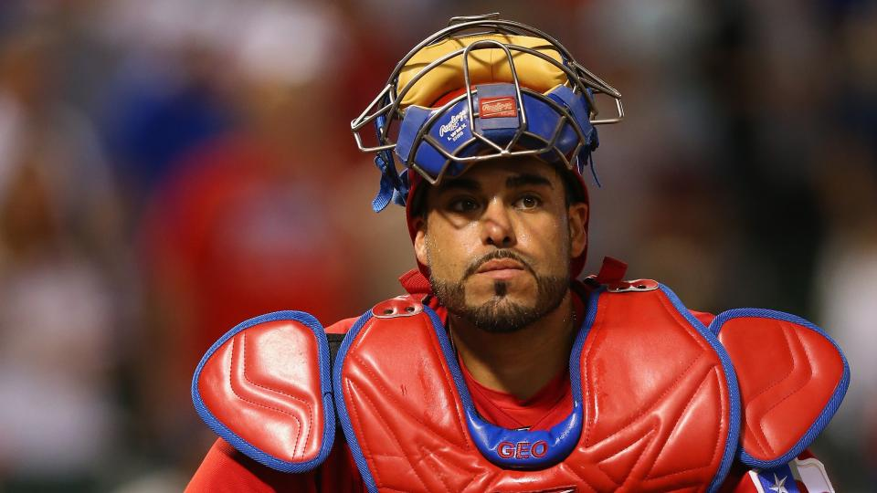 Report: Rangers catcher Geovany Soto arrested on marijuana charge