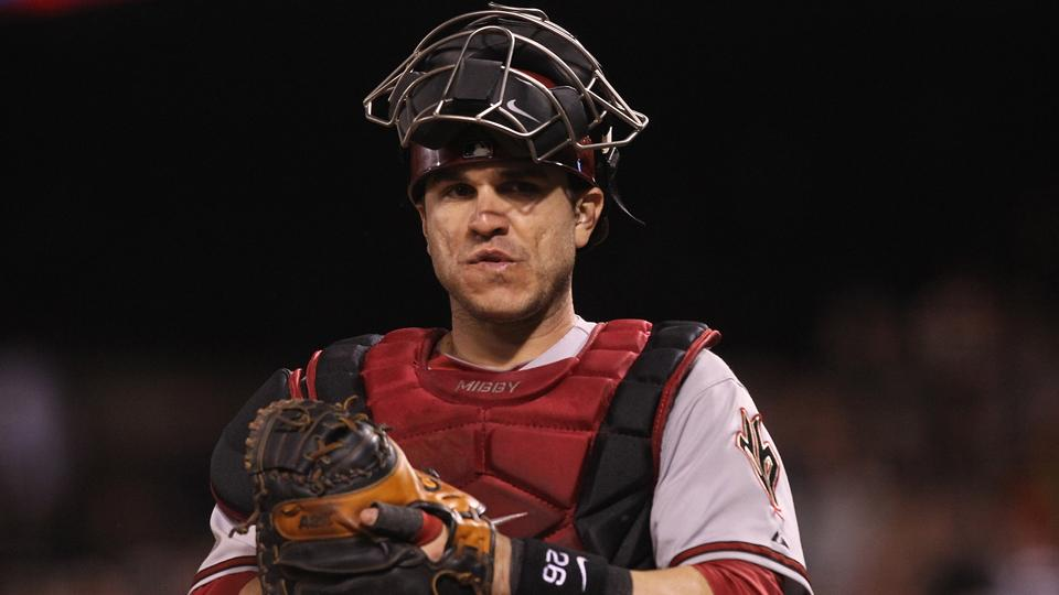 Miguel Montero replaces Yadier Molina on NL All-Star roster