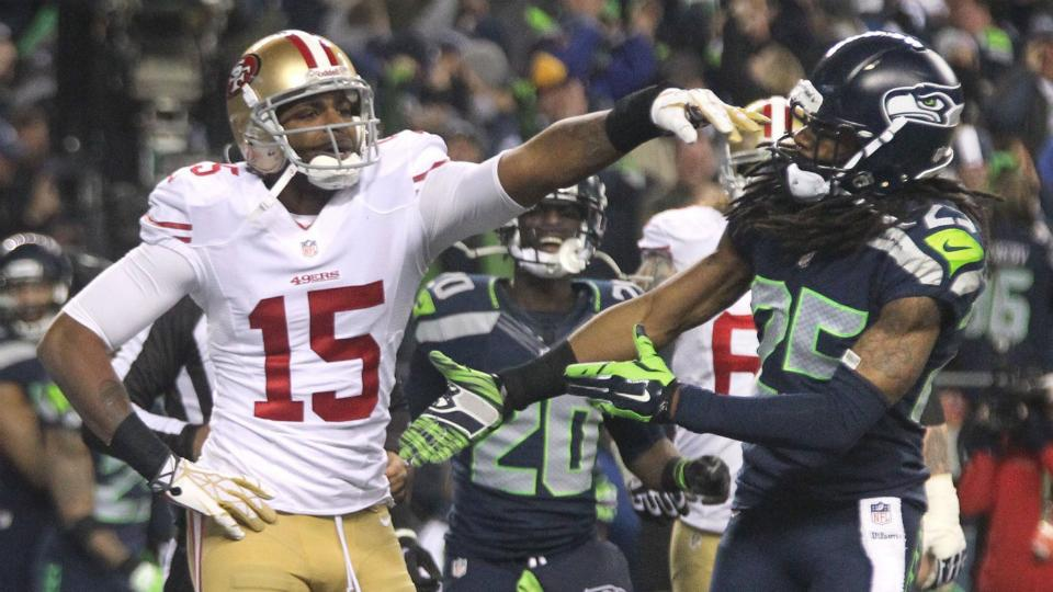 Richard Sherman says he's 'done' talking about Michael Crabtree