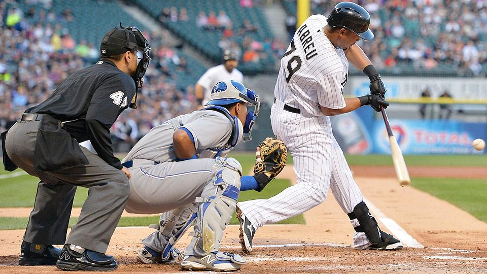 Jose Abreu surpassed Nelson Cruz again in the home run race despite missing 15 games due to tendonitis in his left ankle.