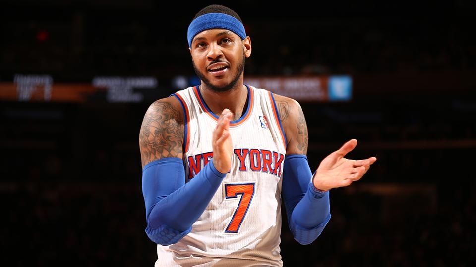 Reports: Carmelo Anthony will re-sign with Knicks