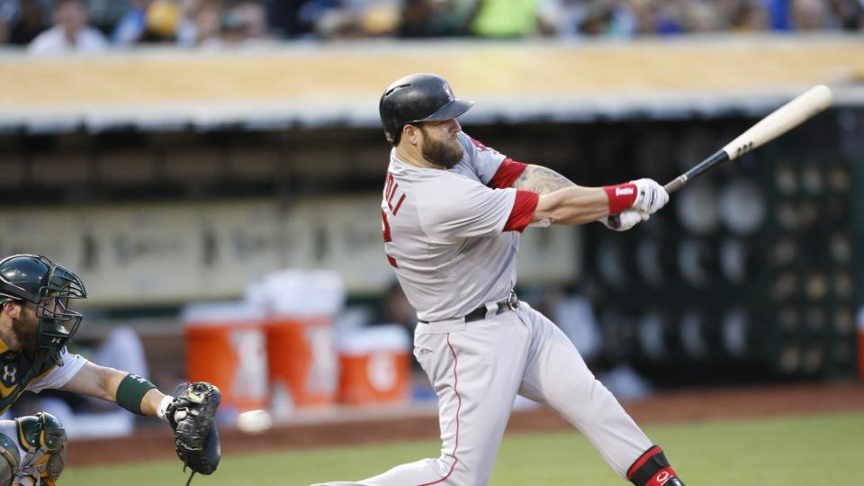 Report: Red Sox getting trade inquiries for 1B Mike Napoli