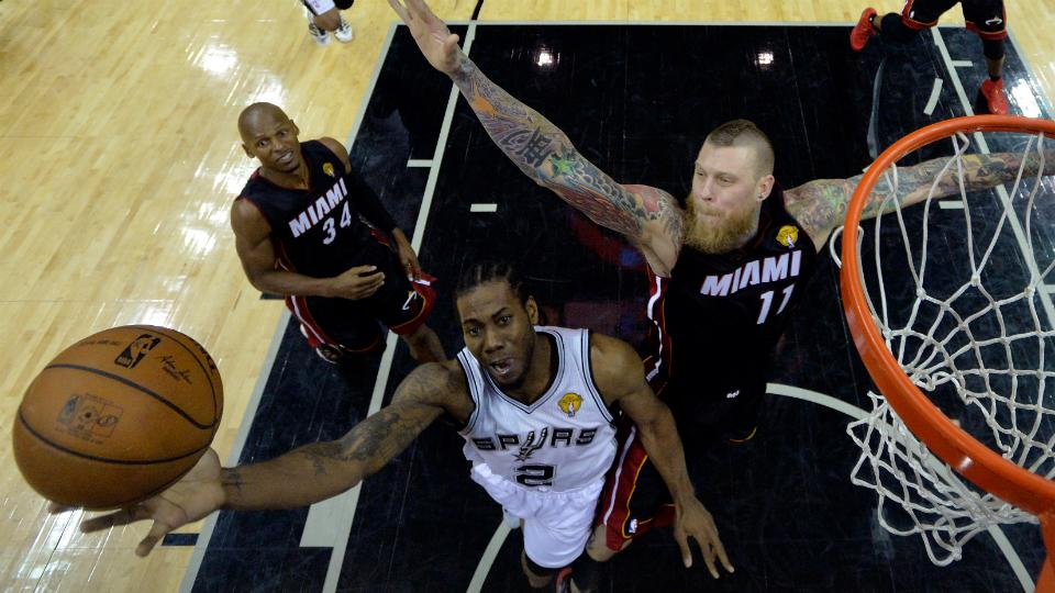 Chris Andersen served as a major sparkplug for the Heat off the bench last season.