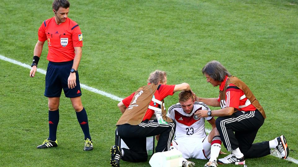Germany's Christoph Kramer can't remember the World Cup final