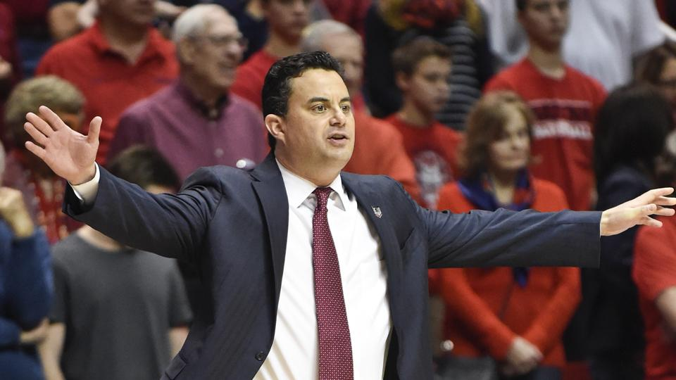 Arizona head coach Sean Miller led the Wildcats to the Elite Eight in 2014.