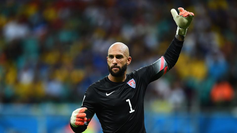 Tim Howard on fame after the World Cup