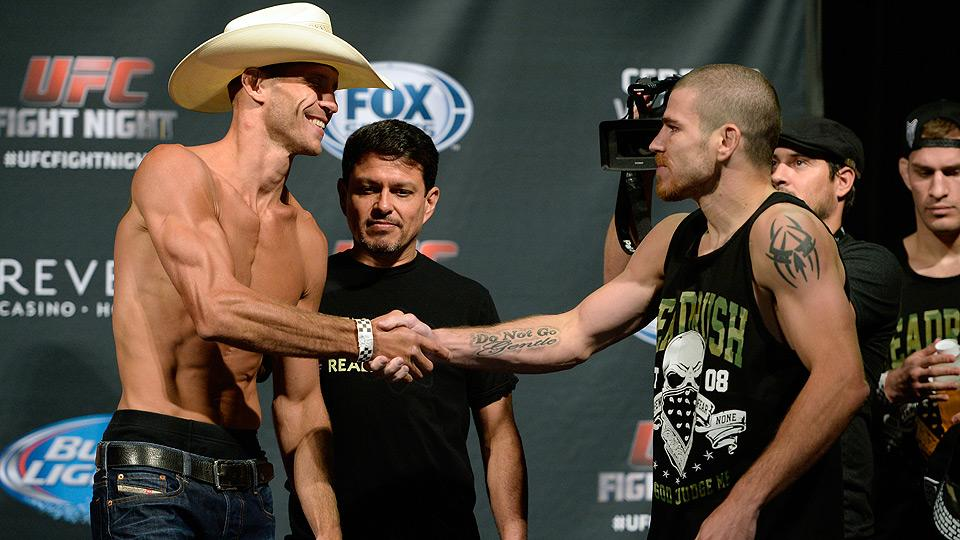 Donald Cerrone (left) and Jim Miller offer contrasting styles, but perhaps not the personalities the UFC is looking for.