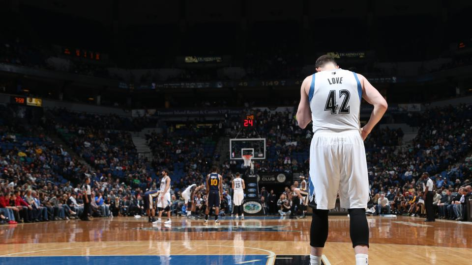 Report: Warriors and Timberwolves re-open Kevin Love trade talks