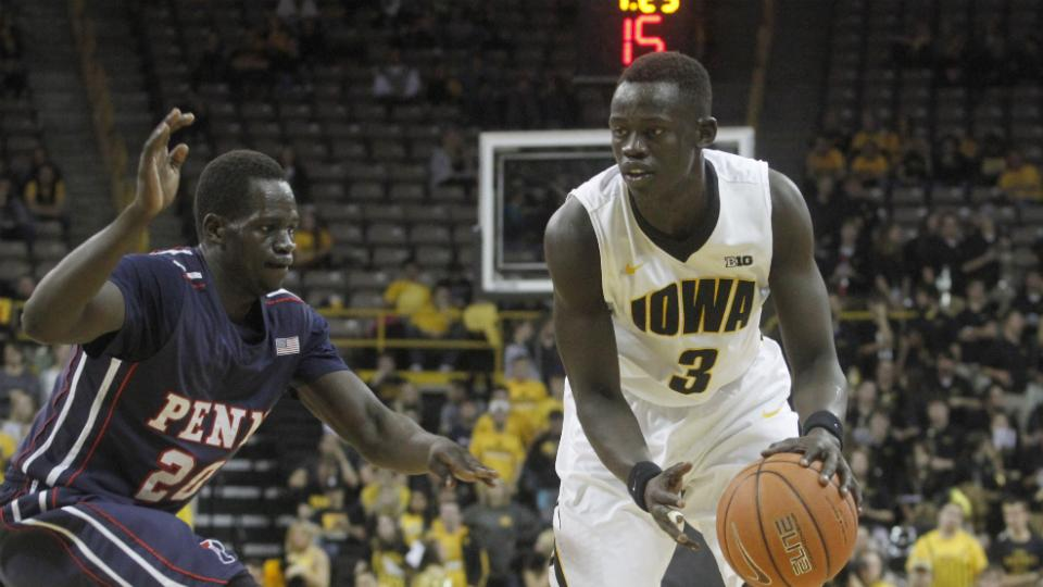 Iowa guard Peter Jok suspended indefinitely after second arrest