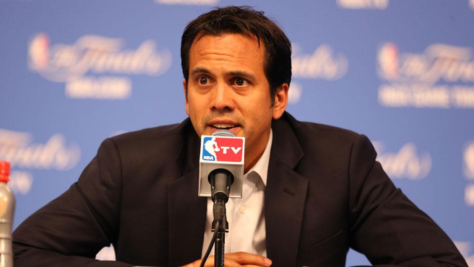 Erik Spoelstra on LeBron James: 'We don't have any regrets'