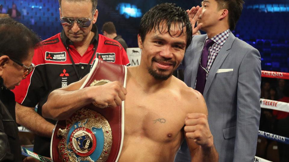 Manny Pacquiao vs Chris Algieri set for Nov. 22 in China