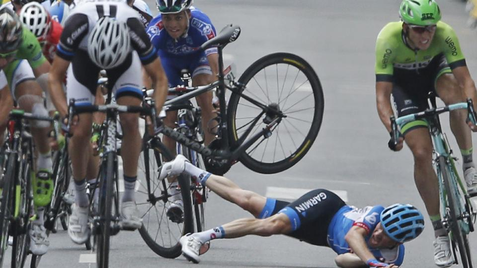 American Andrew Talansky out of Tour de France with back and hip injuries