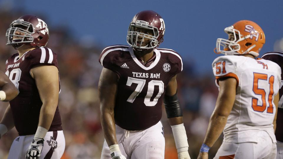 Report: Texas A&M legally paid over $50K to allow OT Ogbuehi to forgo draft