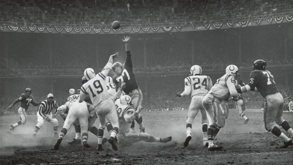 HBO to make movie about 1958 Giants-Colts NFL Championship Game