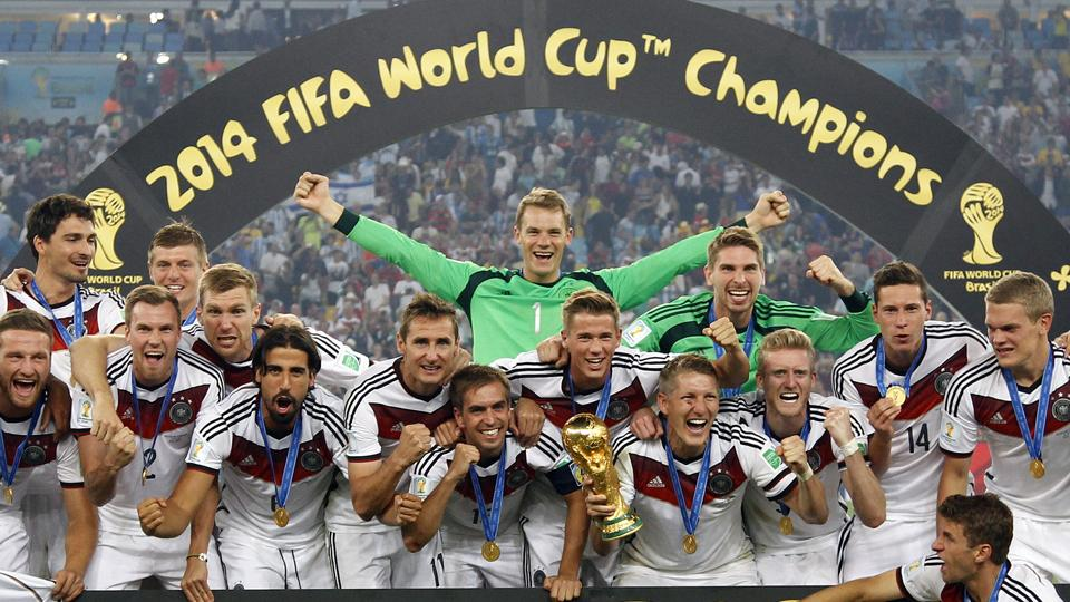 Germany tops FIFA rankings after World Cup win; USA down to 15th