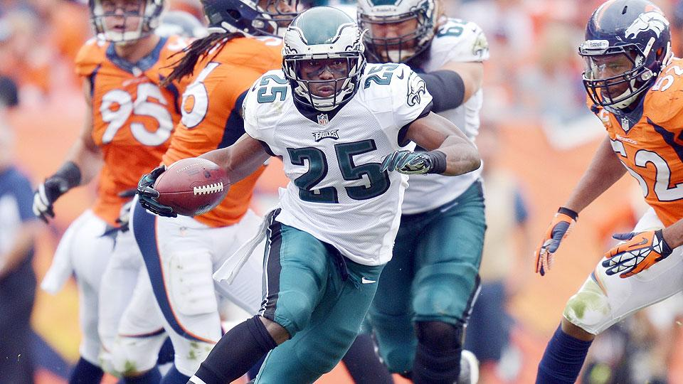 LeSean McCoy will be asked to build upon a career year as the Eagles break in replacements for departed wideout DeSean Jackson.