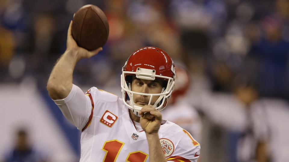 Alex Smith hopes for long-term future with Chiefs