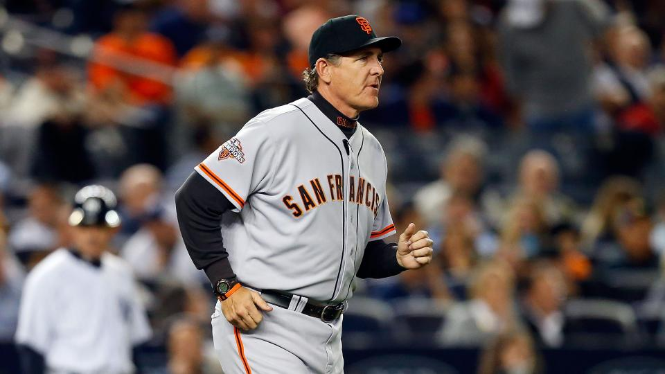 Giants' plane diverted to Las Vegas, pitching coach Righetti hospitalized