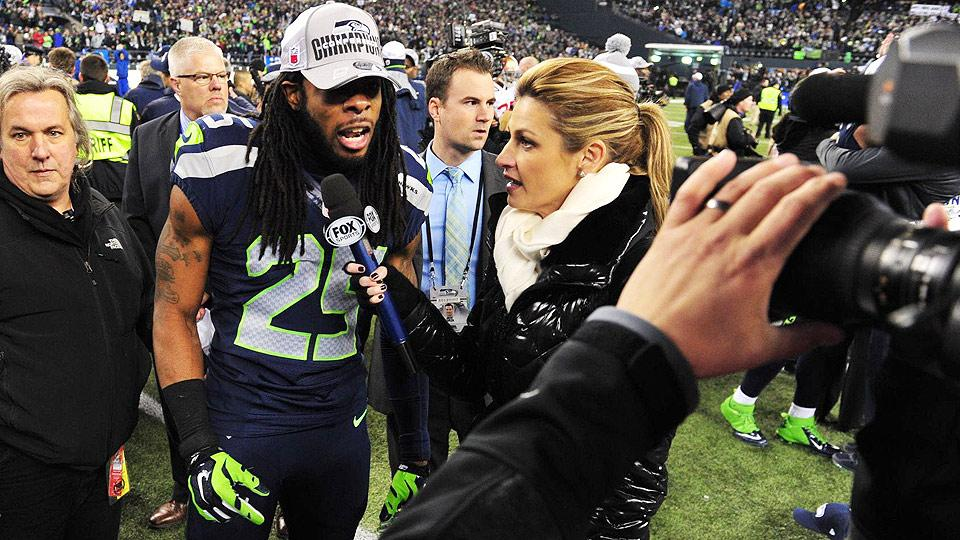 Erin Andrews leaving college football duties to focus on Fox's NFL coverage