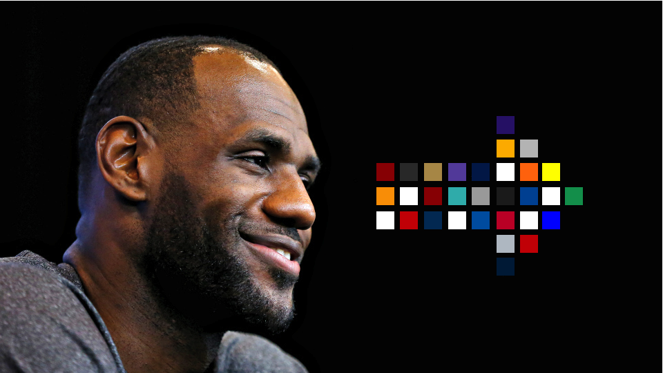 Visualization: The far-reaching impact of LeBron James' free agency