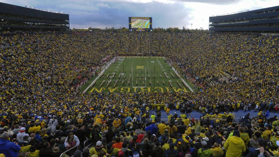 Michigan regents reject football game fireworks proposal