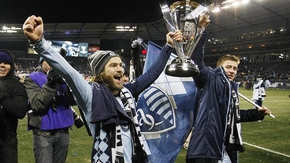 By signing long-term Designated Player contracts, Graham Zusi (left) and Matt Besler (right) are locked in with Sporting Kansas City through the 2018 World Cup.