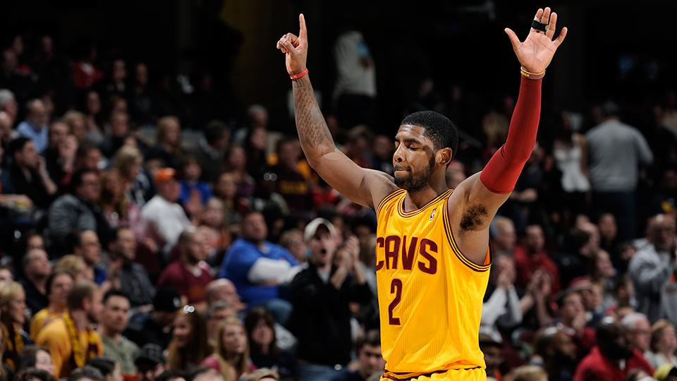 Kyrie Irving on extension: 'huge monkey off my back'