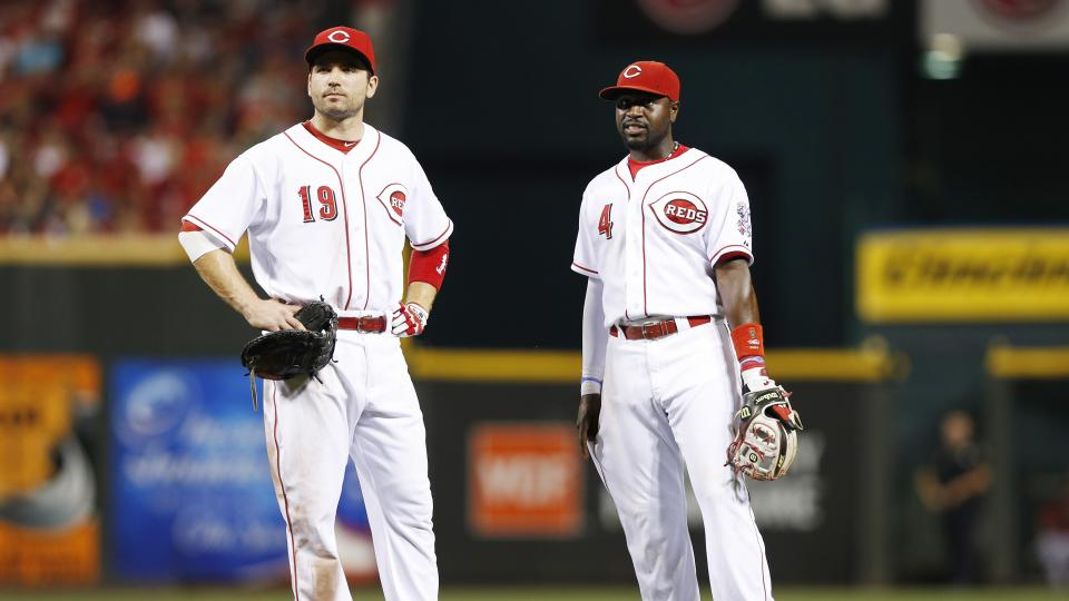 Reds' Joey Votto, Brandon Phillips still reportedly five weeks from return
