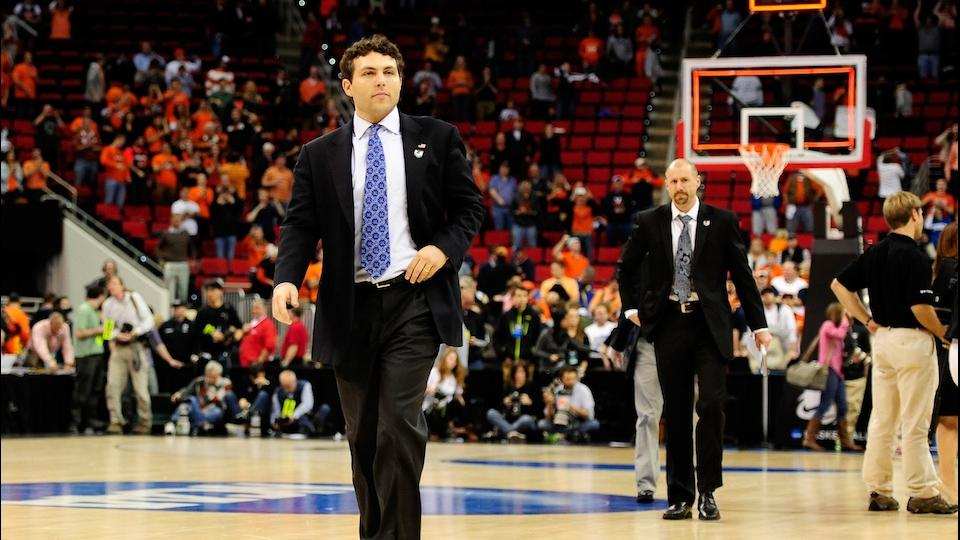 Josh Pastner has walked off with three Lawsons now