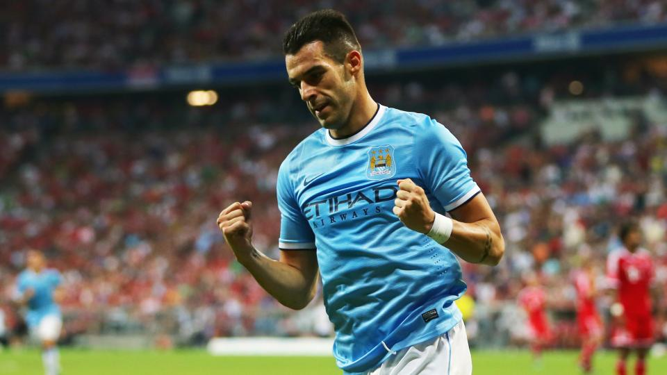 Manchester City's Álvaro Negredo out for up to three months