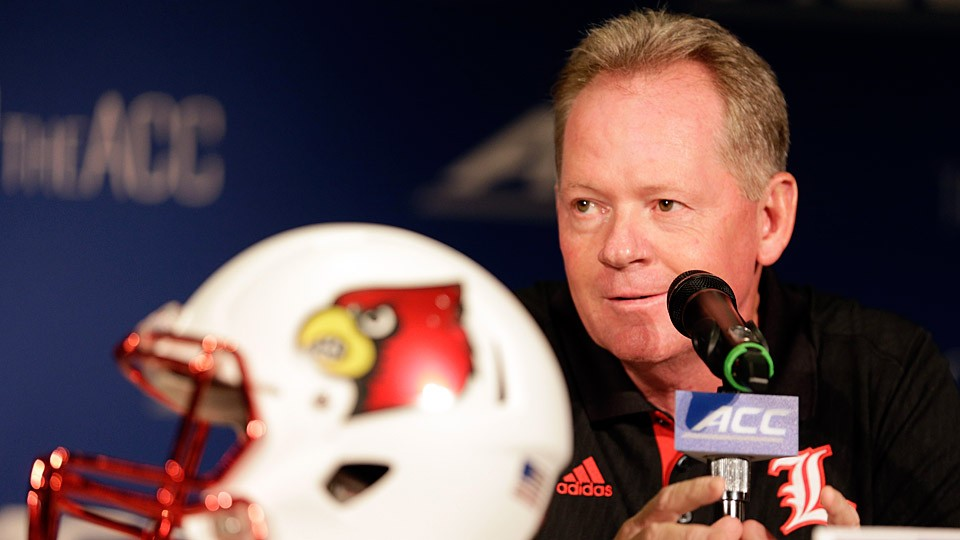 Bobby Petrino and Louisville seek ACC impact after offseason of change