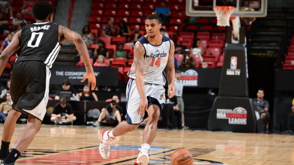 Wizards' Glen Rice Jr. named Las Vegas Summer League MVP