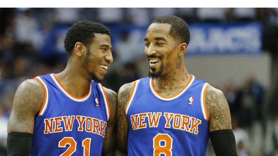 Report: Knicks open to dealing J.R. Smith, Iman Shumpert