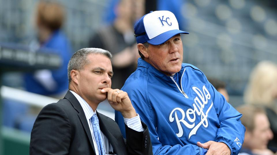 Kansas City Royals GM Dayton Moore: 'I'm not going to give up on our team'