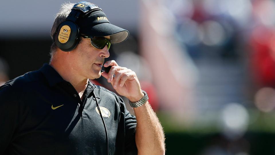 Missouri's Gary Pinkel on playing Kansas: 'It would be great'