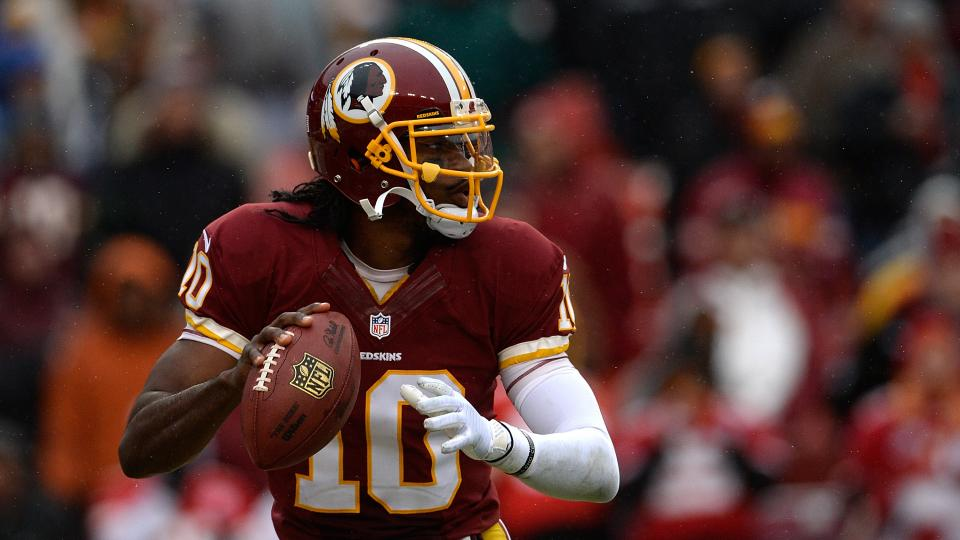 Robert Griffin III isn't worried about receving corps' limited touches
