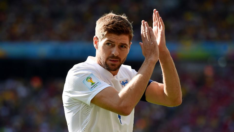 England captain Steven Gerrard retires from international play